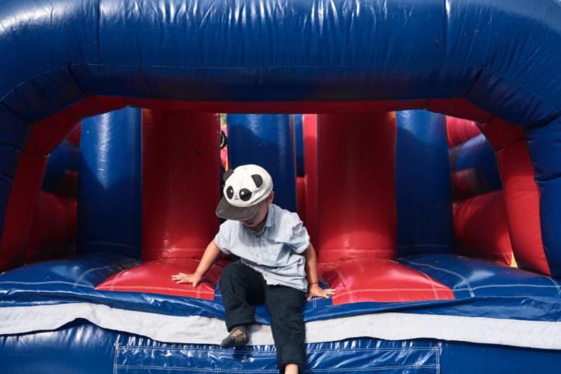 Kids - Child on slide