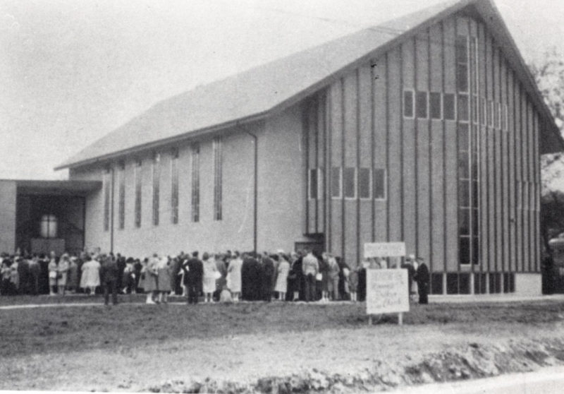 Original Willingdon Church Building