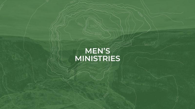 Men's Ministries header