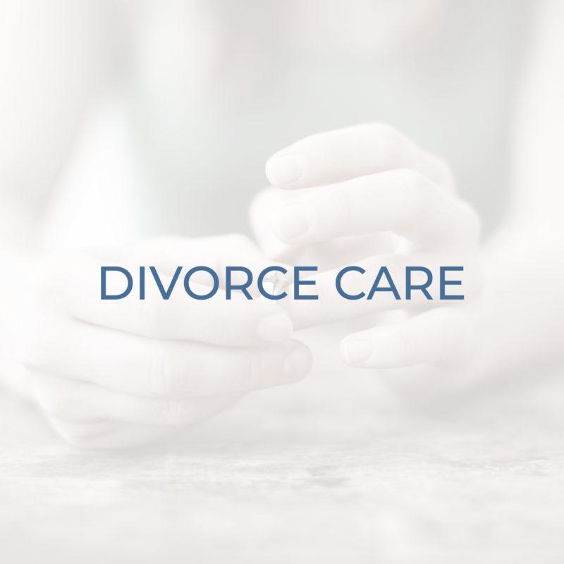 Divorce Care header