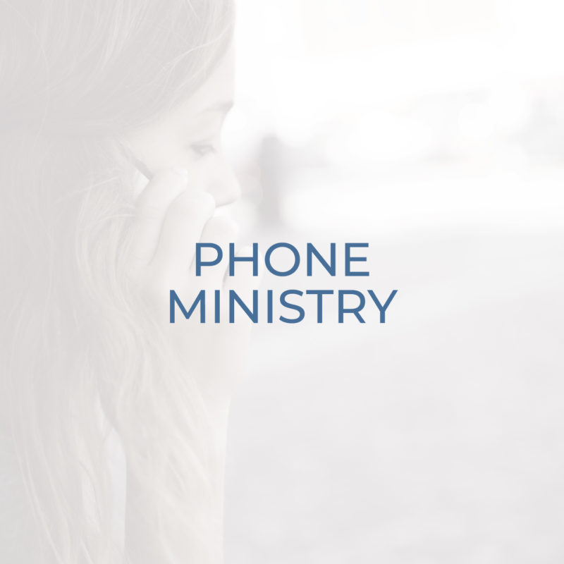 Phone Ministry header