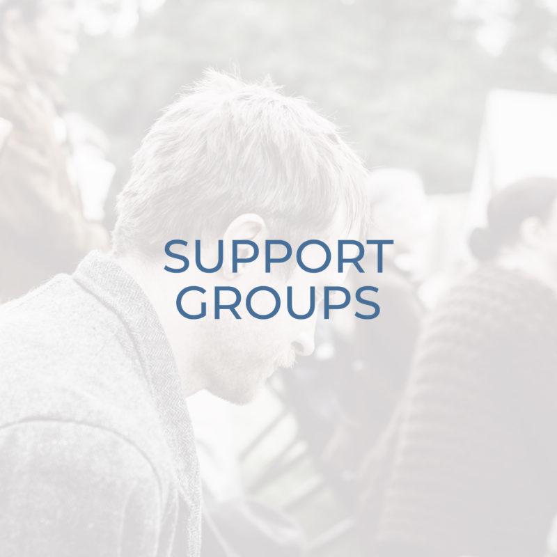 Support Groups header