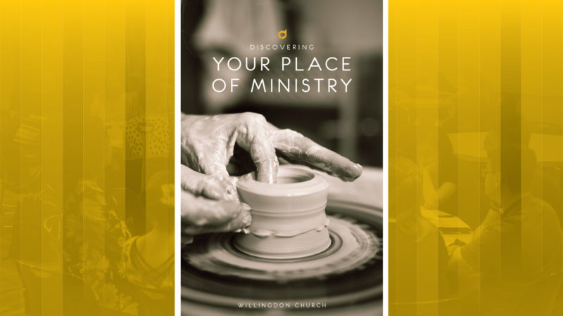 Discovery - Discovering Your Place of Ministry