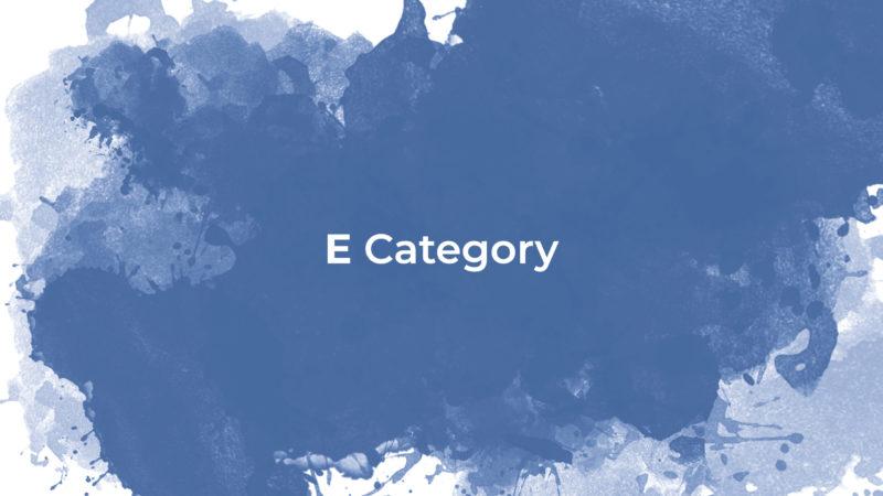 ESL Class - E Category