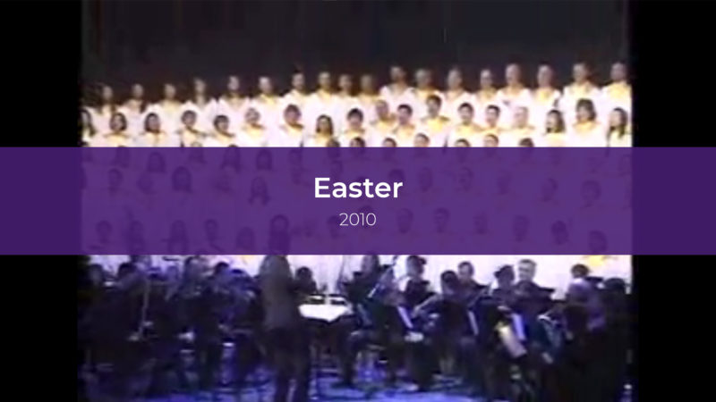 Easter Services 2010