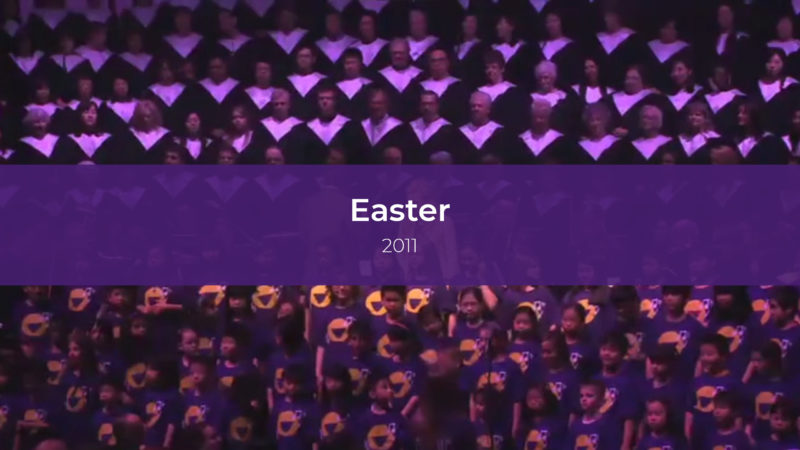 Easter Services 2011