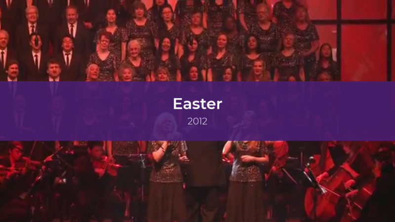 Easter Services 2012