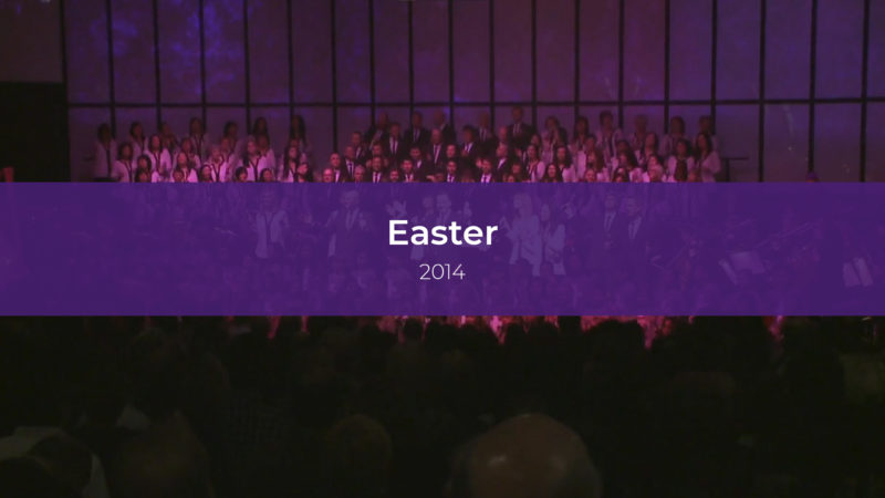 Easter Services 2014