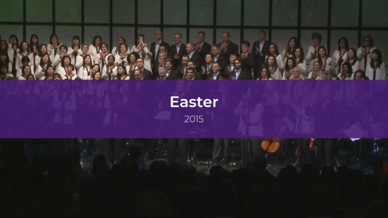 Easter Services 2015