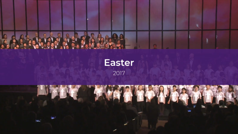 Easter Services 2017