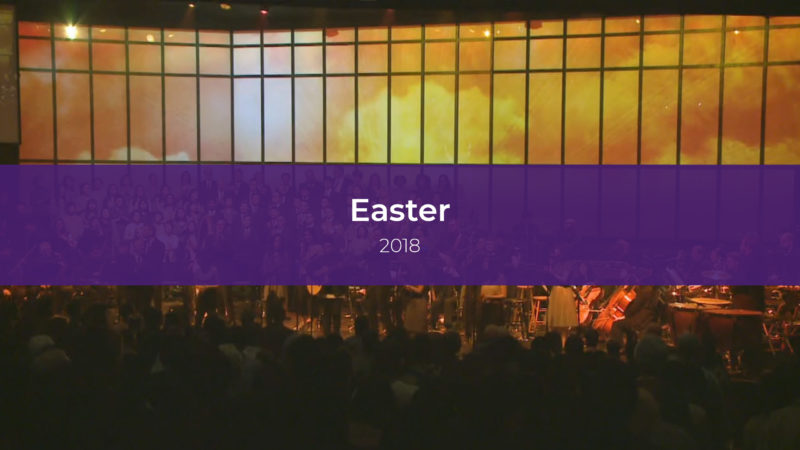 Easter Services 2018