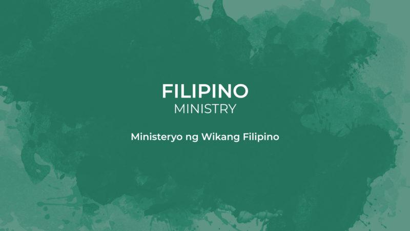 Filipino ministry card