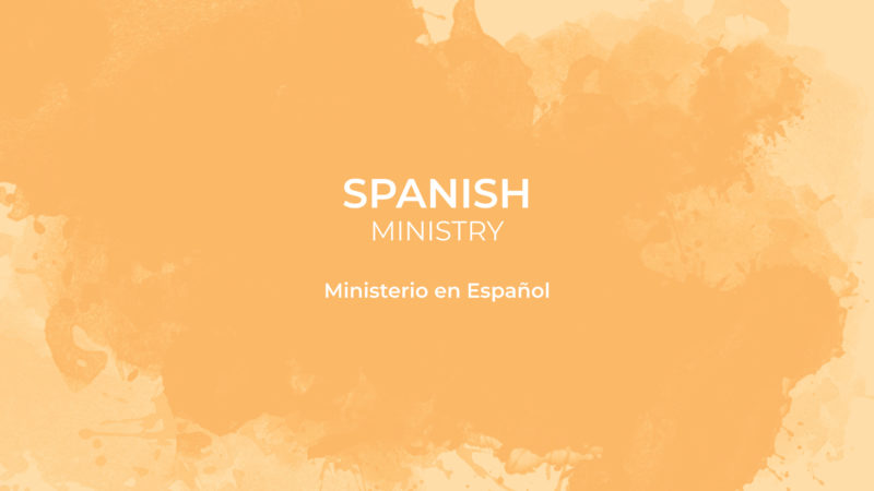 Spanish ministry card