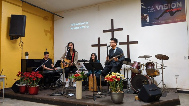 Photo of worship at Potter's Place