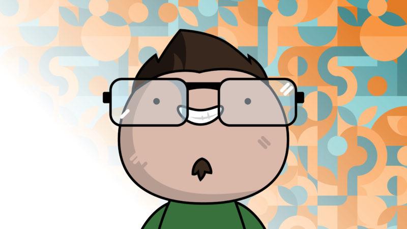 Isaac Lee Cartoon Headshot