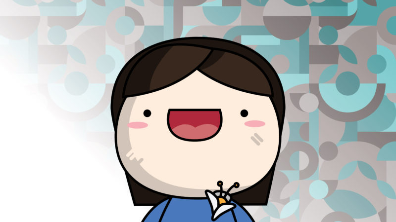 Karen Chan Cartoon Headshot