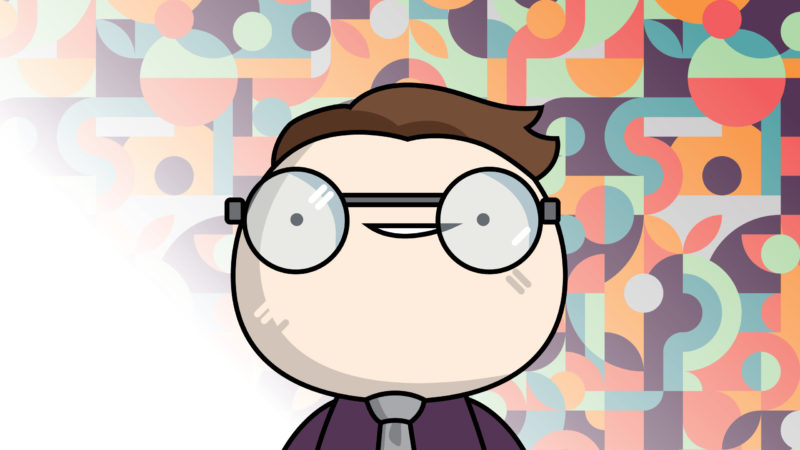 Ray Harms-wiebe Cartoon Headshot