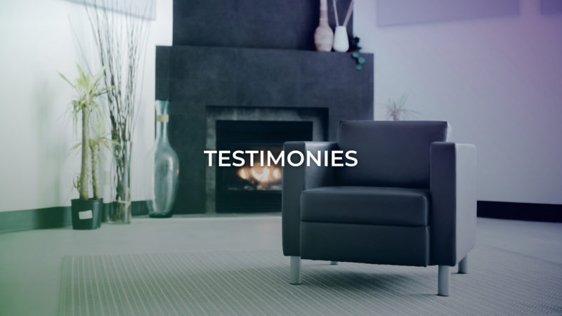 Stories - Testimonies