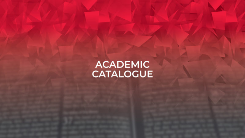 WSBM - Academic Catalogue