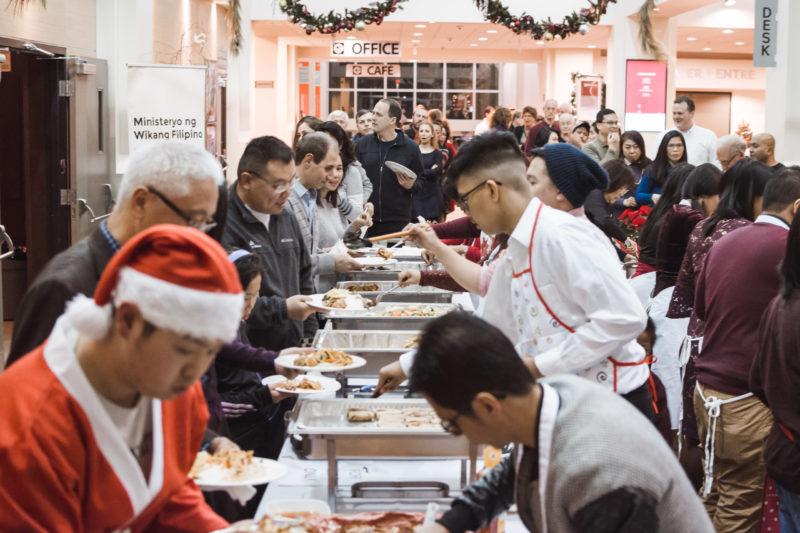Photo of ILM Filipino banquet