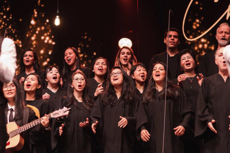 Photo of WAM choir