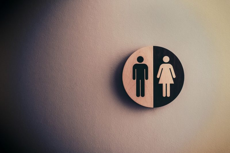 Image of male and female icons